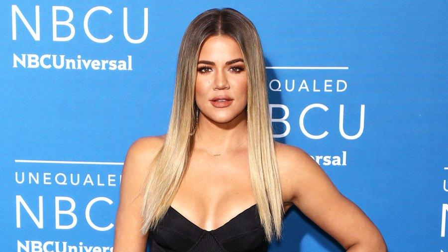 Khloe Kardashian Good American workout