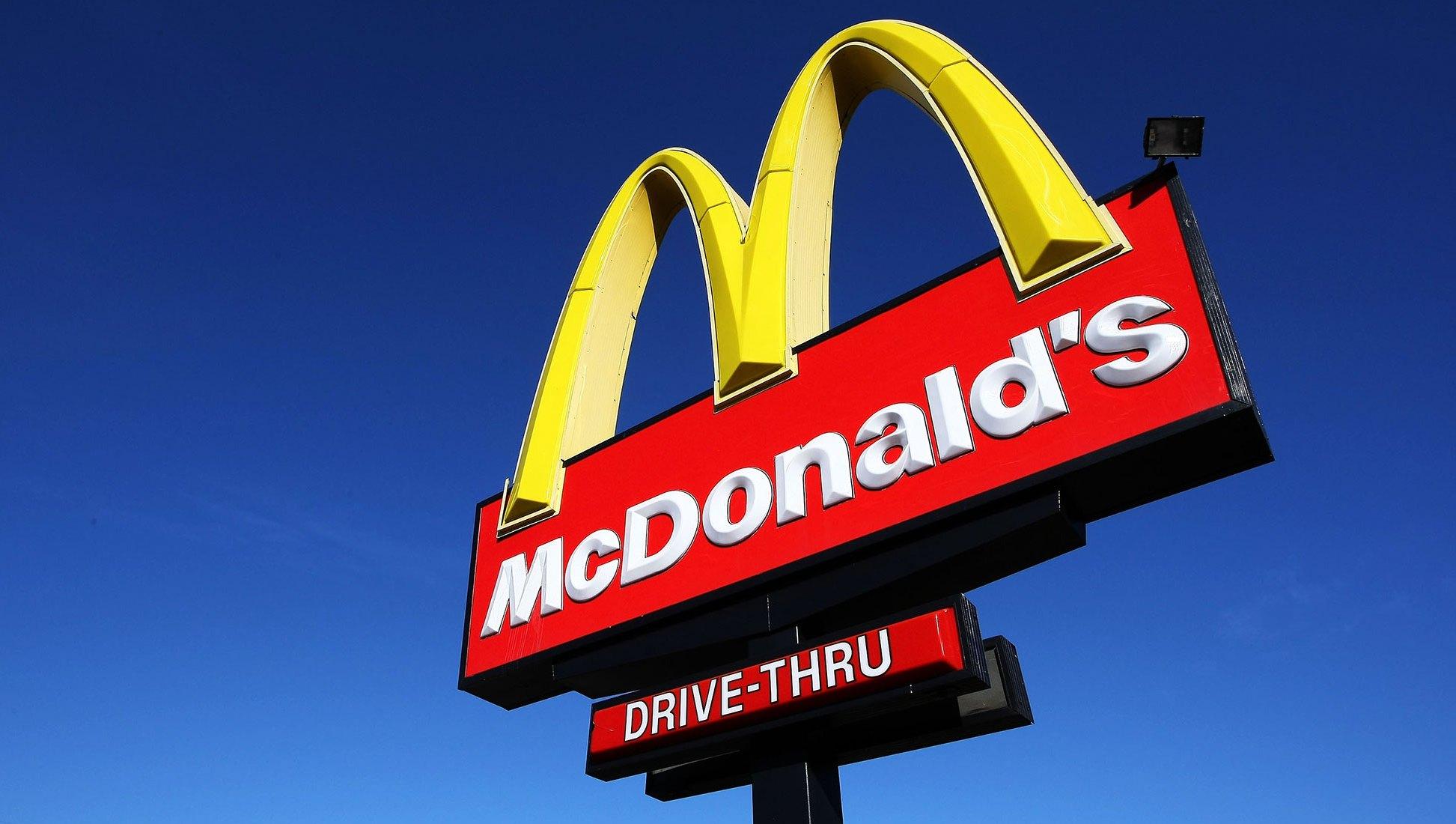 McDonalds homeless man job