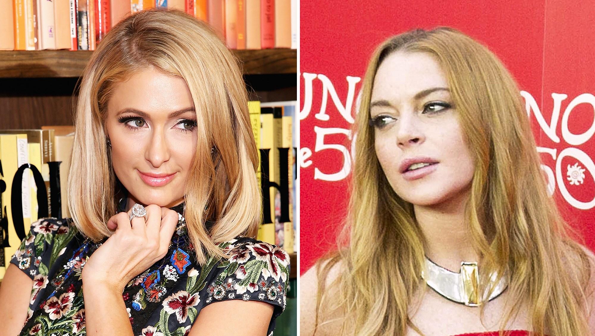Paris Hilton Lindsay Lohan Pathological Liar Comment