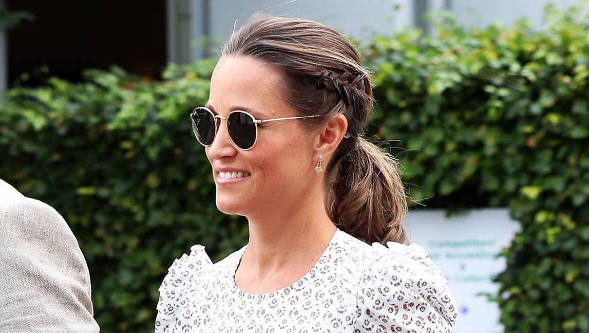 Pippa Middleton Baby Bump James Matthews Wimbledon