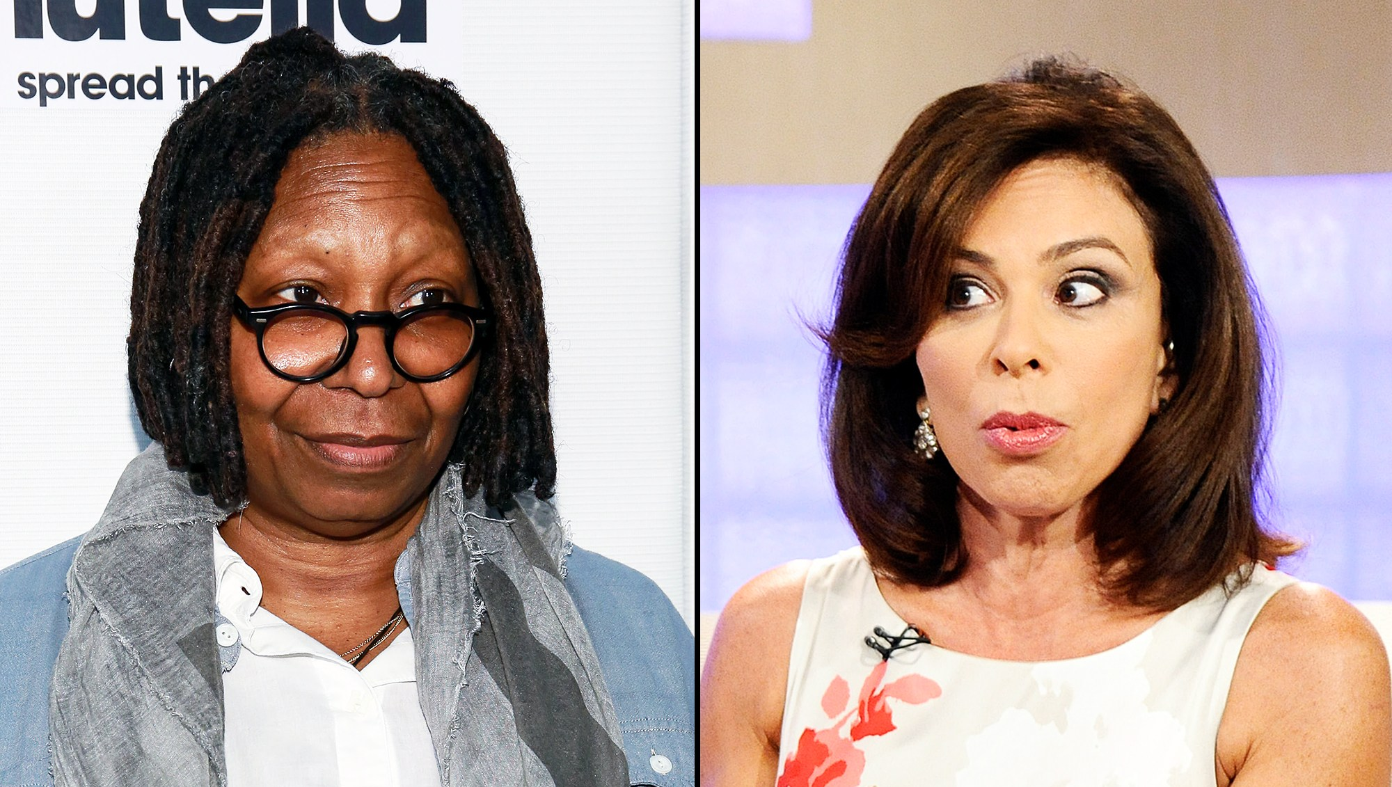 Whoopi Goldberg Jeanine Pirro Explosive Fight