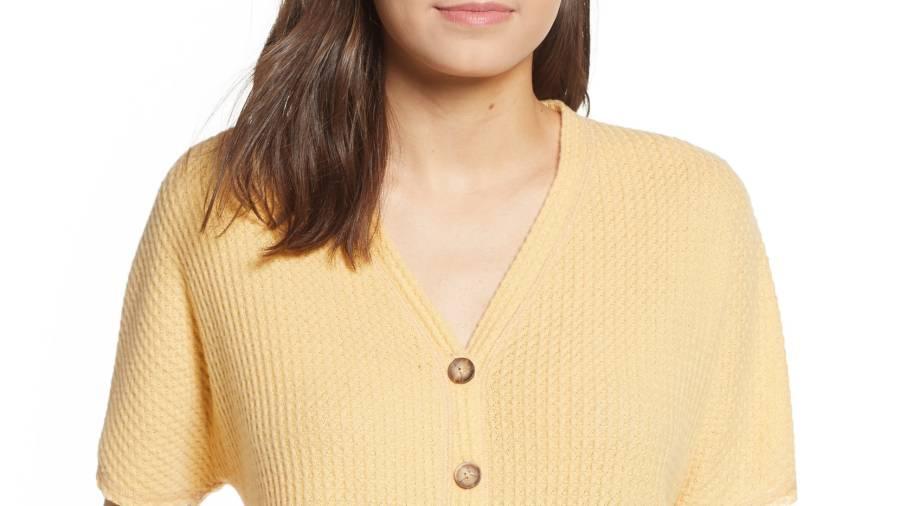 socialite yellow top