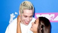 Ariana-Grande-Pete-Davidson-first-kiss