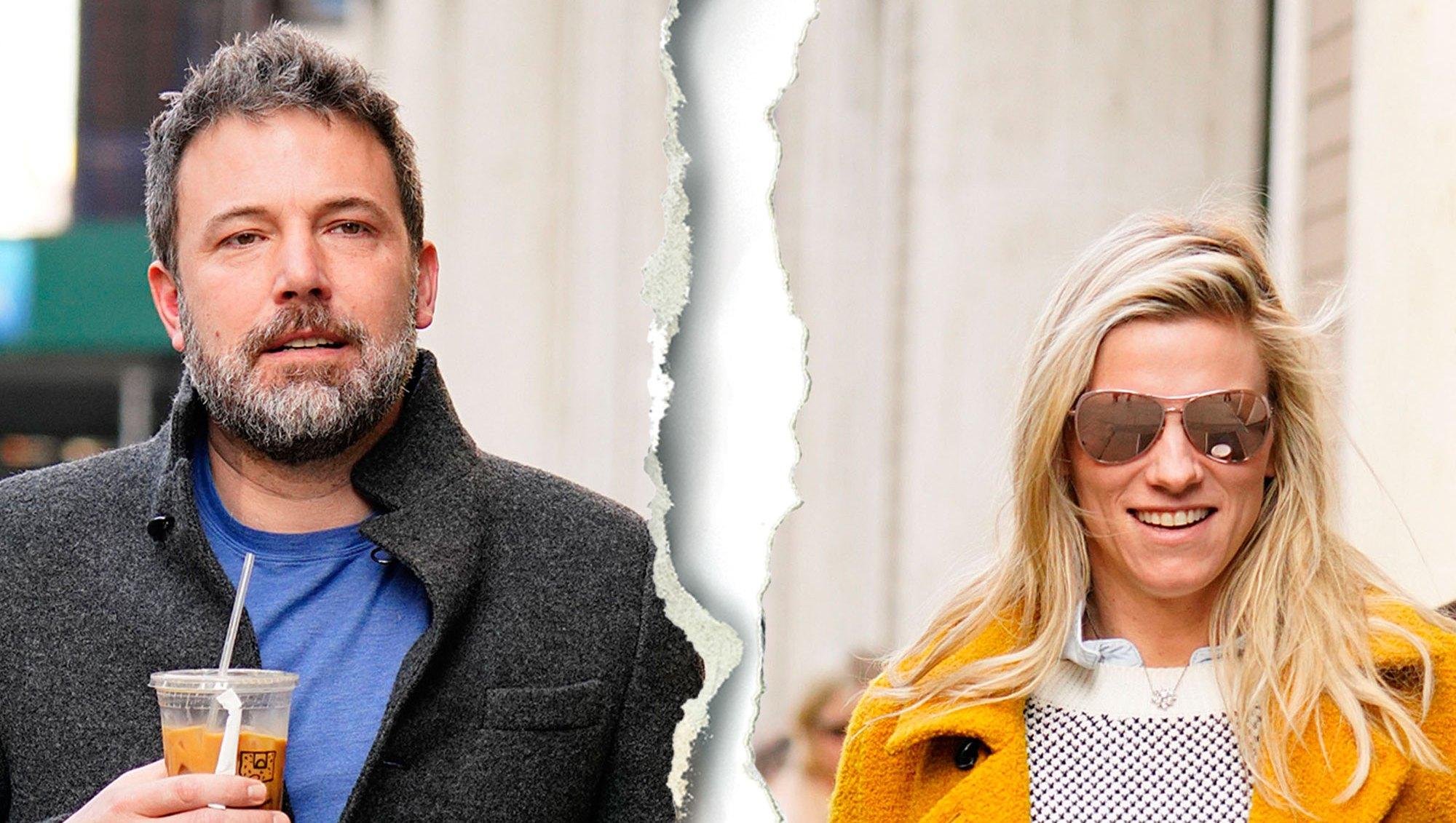 Celebrity Splits of 2018 Ben Affleck Lindsay Shookus break up split gallery