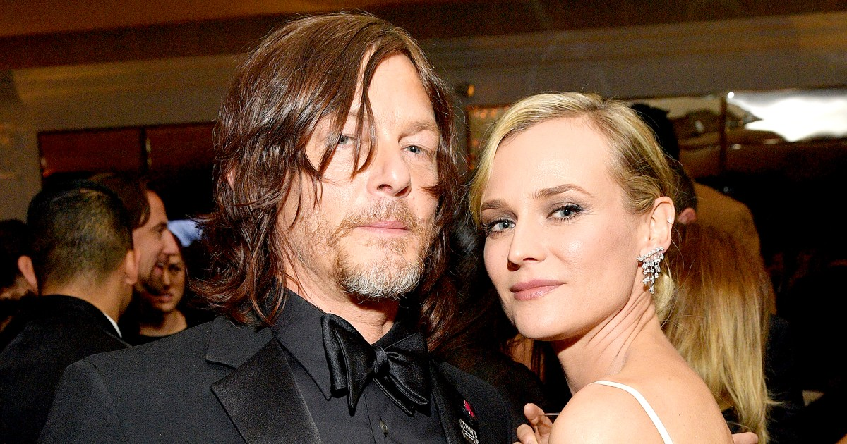Pregnant Diane Kruger And Norman Reedus Complement One