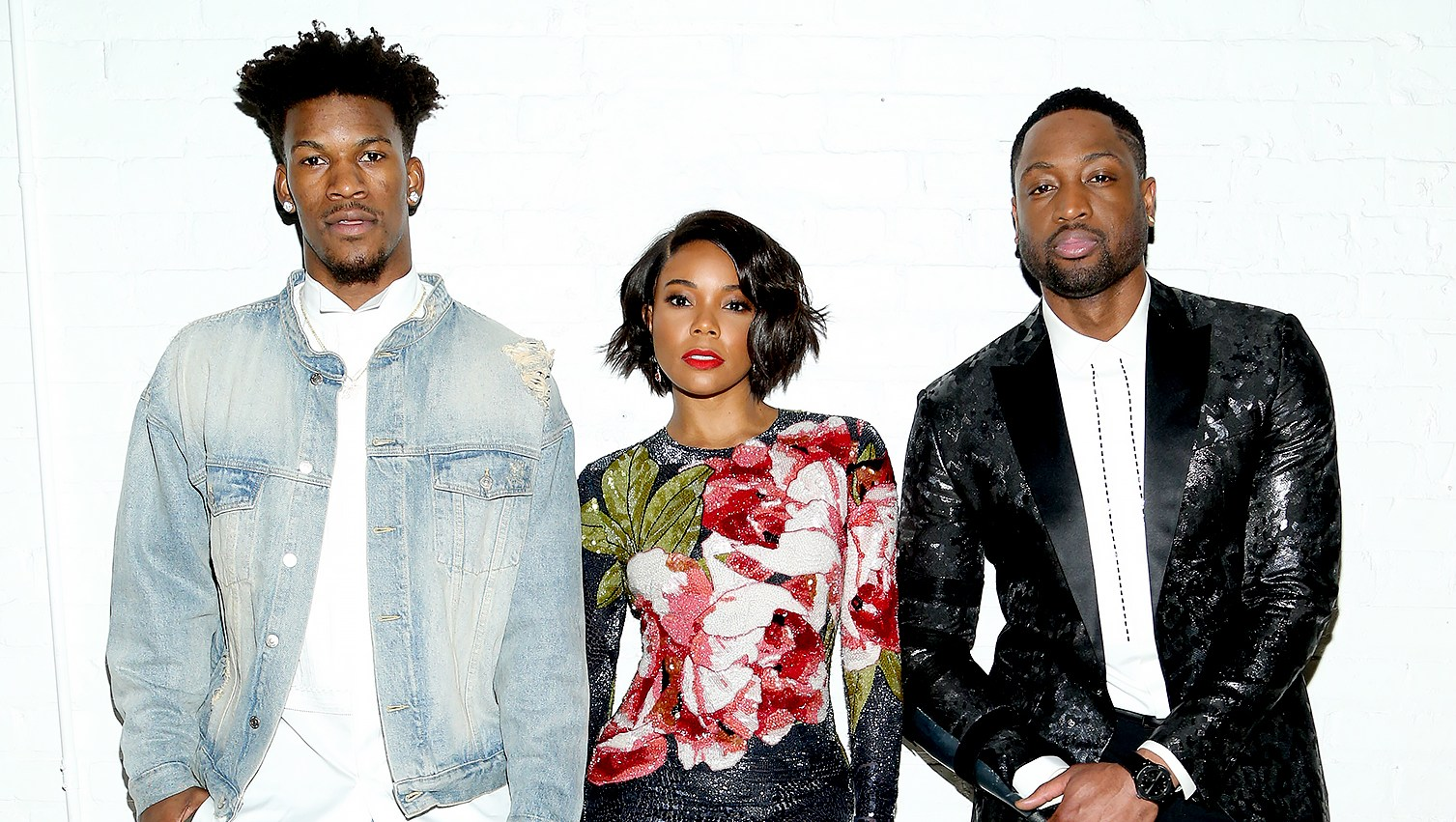 Dwyane-Wade,-Gabrielle-Union-and-Jimmy-Butler