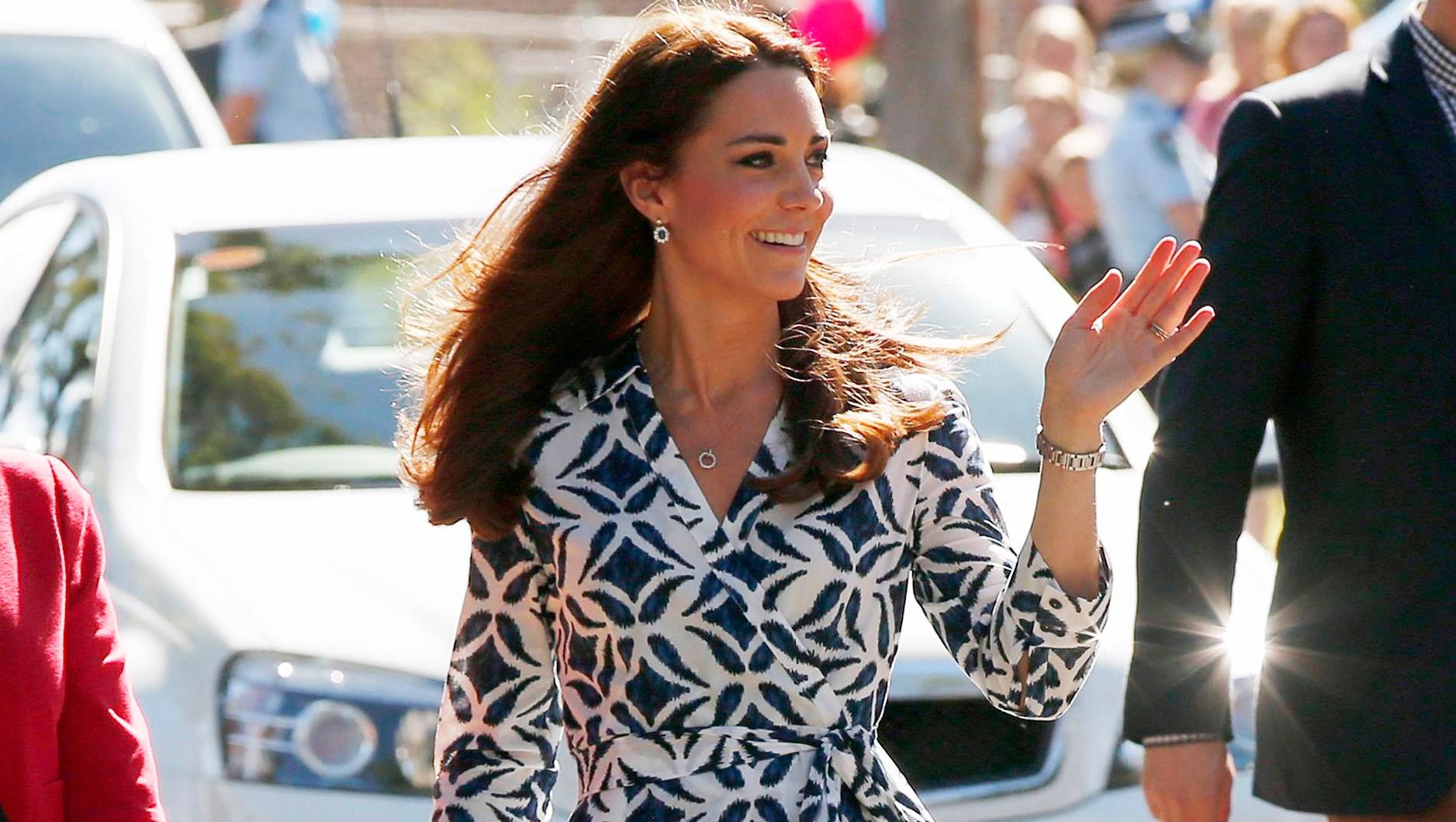 Duchess Kate DVF