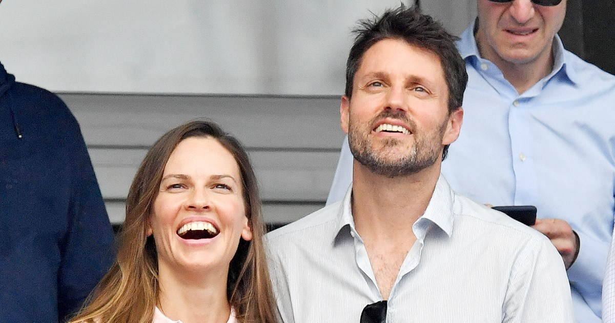 Hilary Swank's Surprise Wedding to Philip Schneider After ...