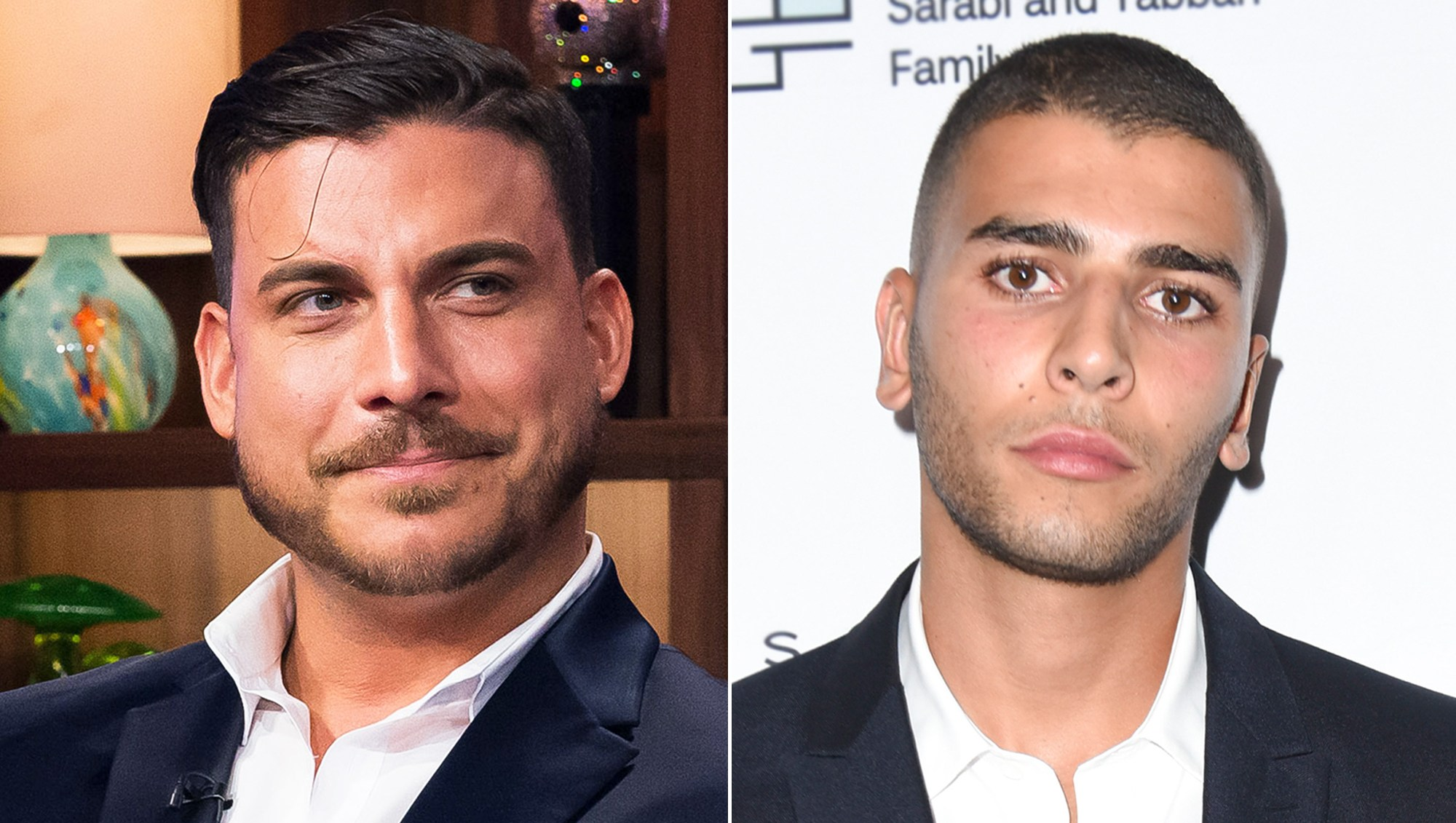 Jax Taylor and Younes Bendjima