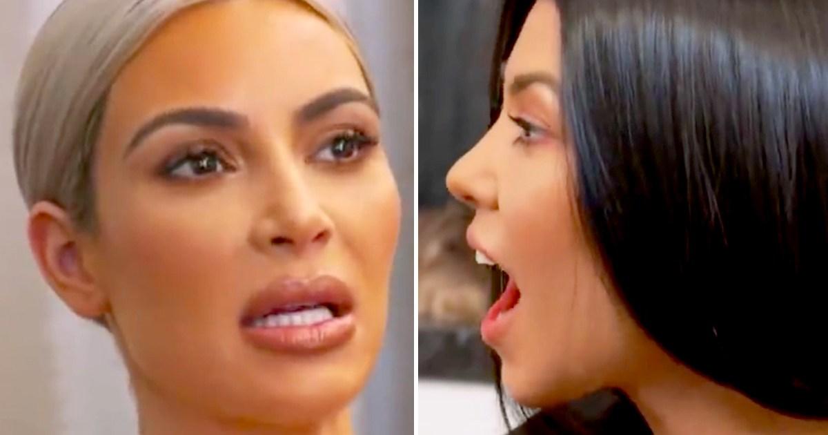 Kourtney Kardashian Cries After Refusing to Go to ...