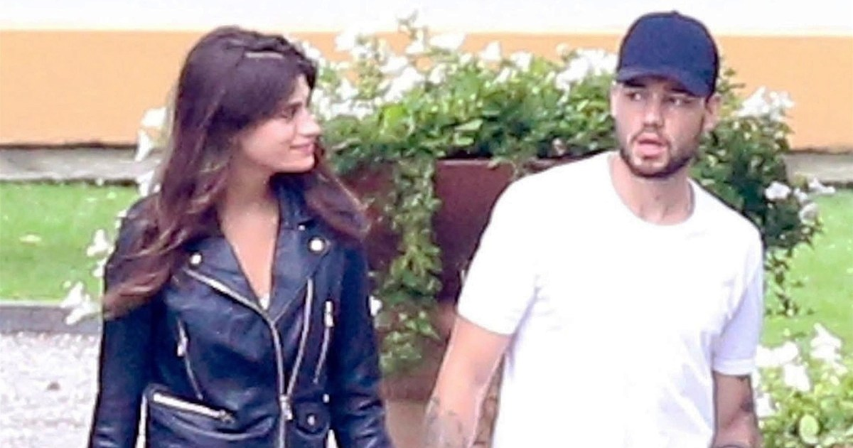Liam payne kisses model cairo dwek after cheryl cole split for Cairo mobel