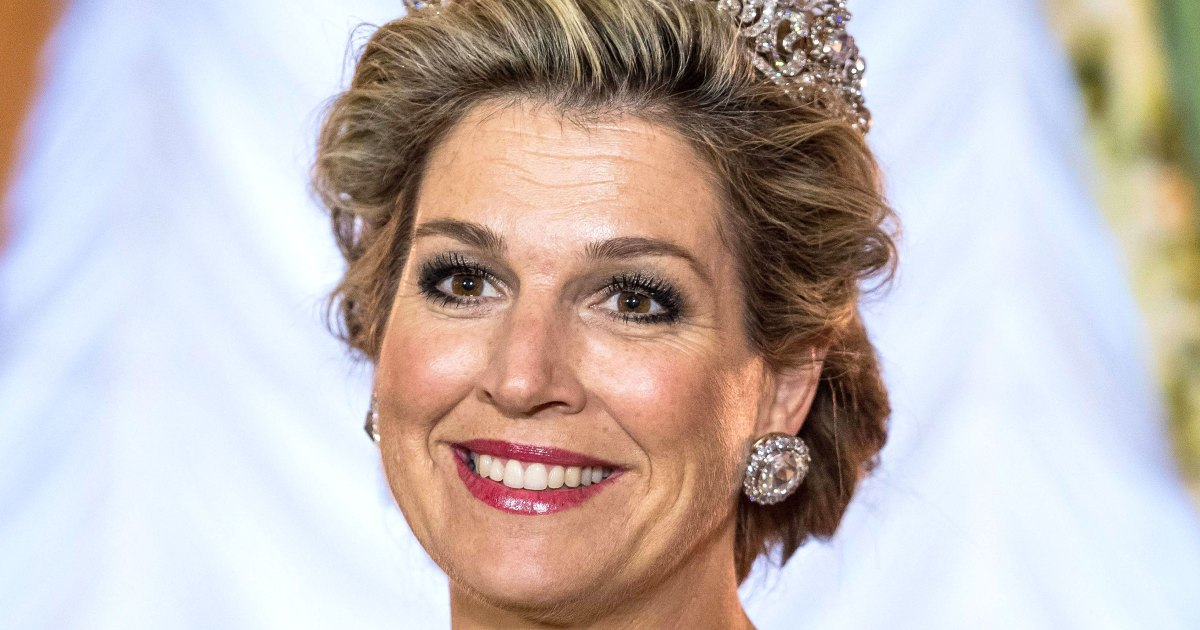 Queen Maxima Looks Cool and Casual in a Monochrome Ensemble