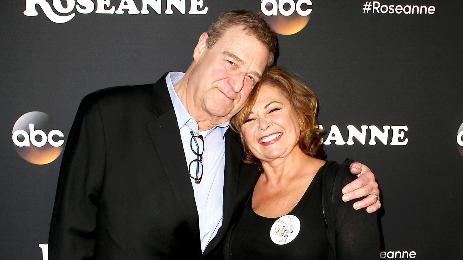 Roseanne Barr Thanks John Goodman for Defending Her