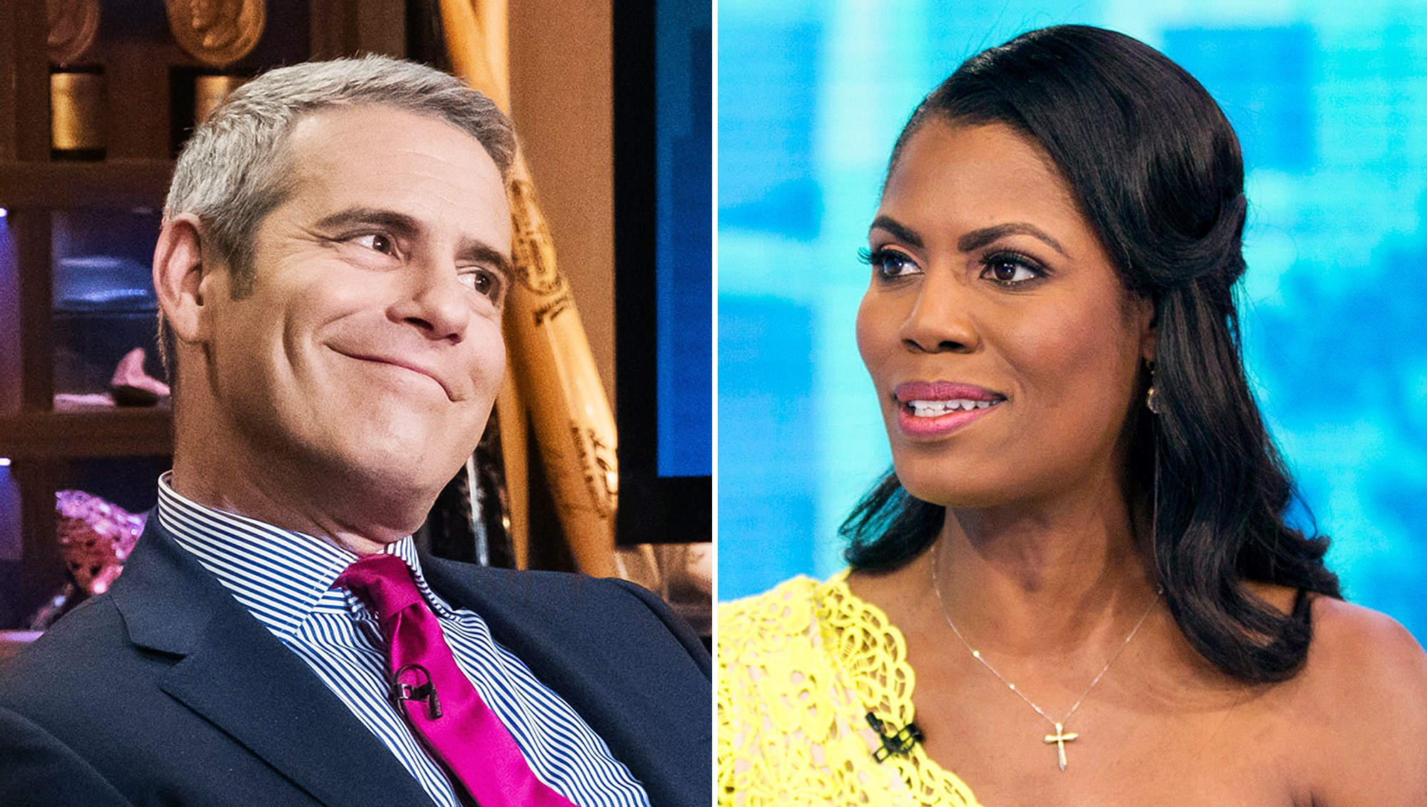 Andy Cohen Omarosa Housewife