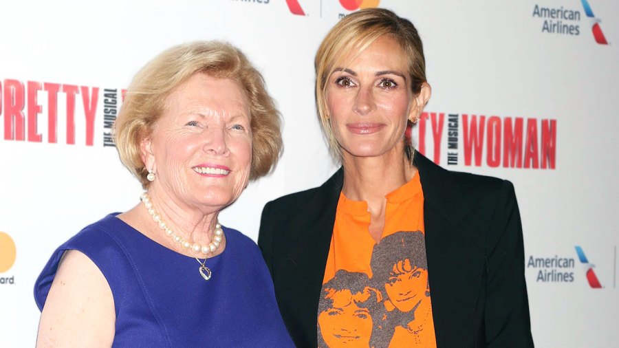 Barbara Marshall and Julia Roberts attend the Garry Marshall Tribute Performance of Pretty Woman: The Musical.