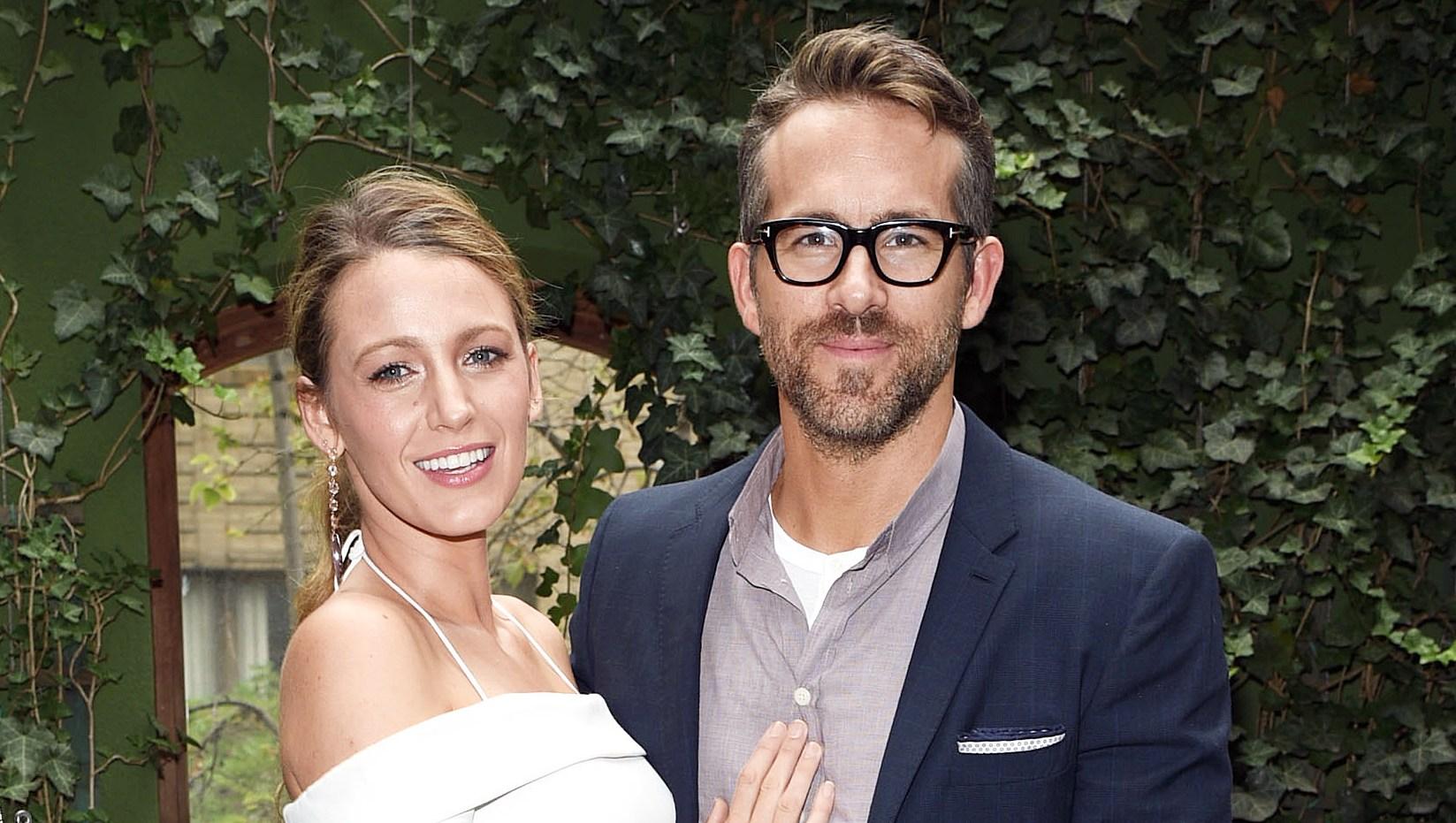 Blake Lively Ryan Reynolds In Love