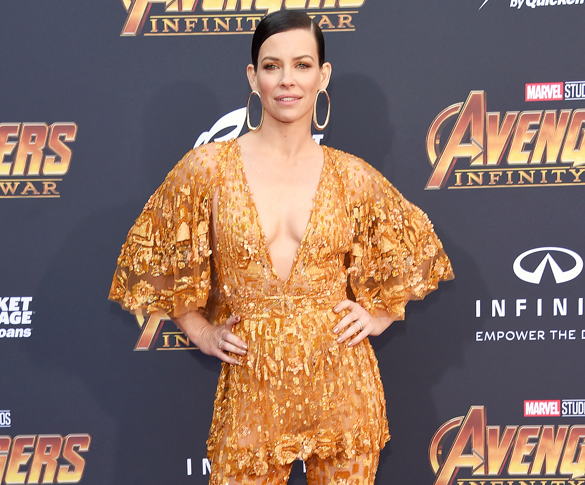 Removed Evangeline lily nude photos
