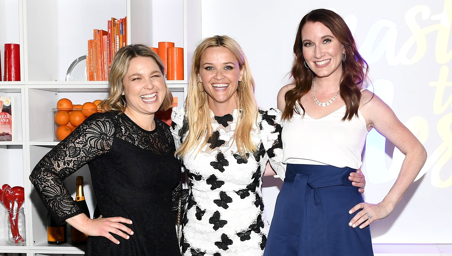 Joanna Teplin, Reese Witherspoon and Clea Shearer