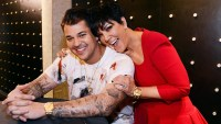 Rob Kardashian and Kris Jenner.