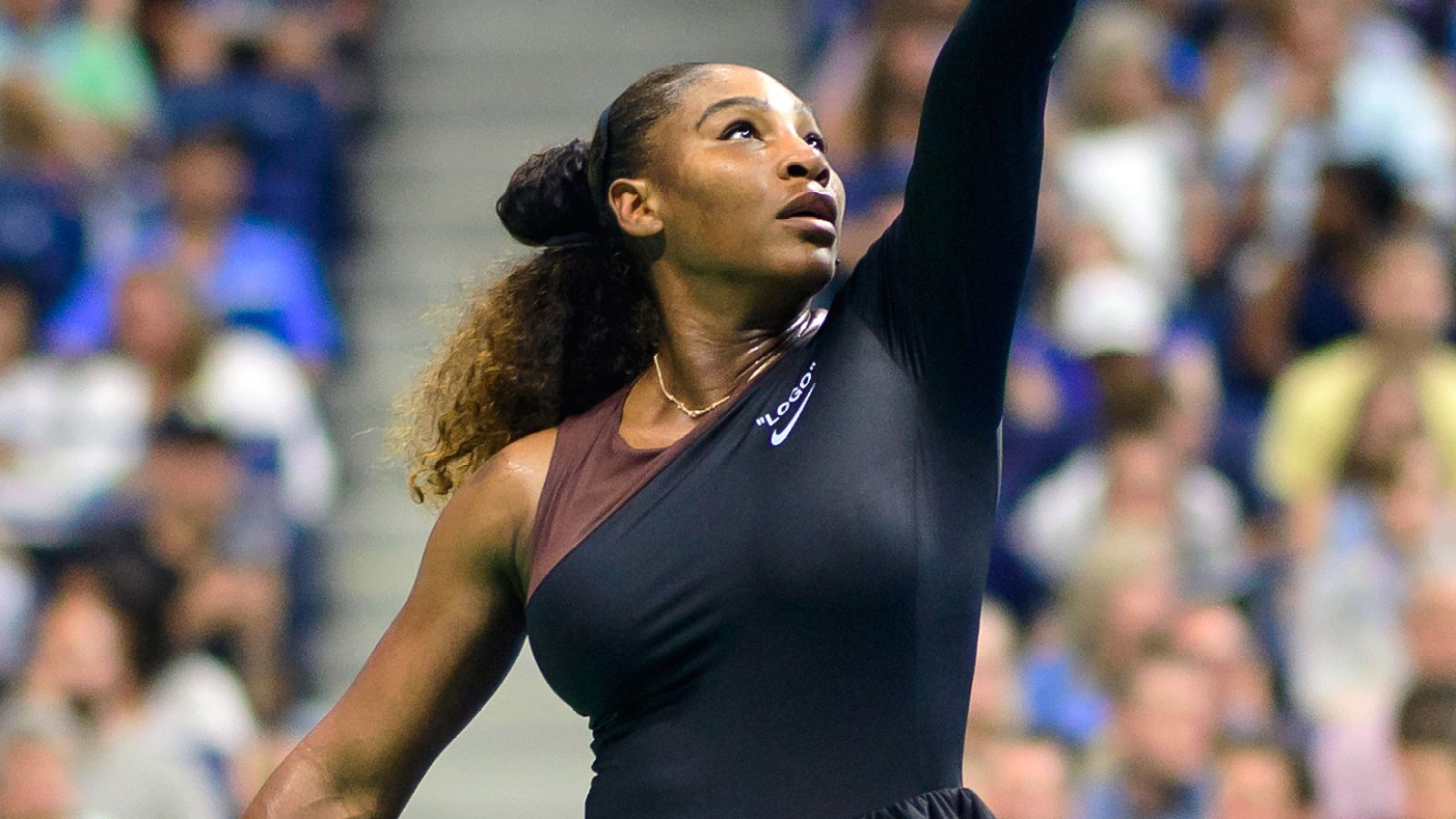 bc535f80ad5 All About Serena Williams  Off-White x Nike One-Shoulder 2018 U.S. Open  Tutu Dresses