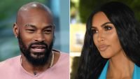 Tyson Beckford and Kim Kardashian