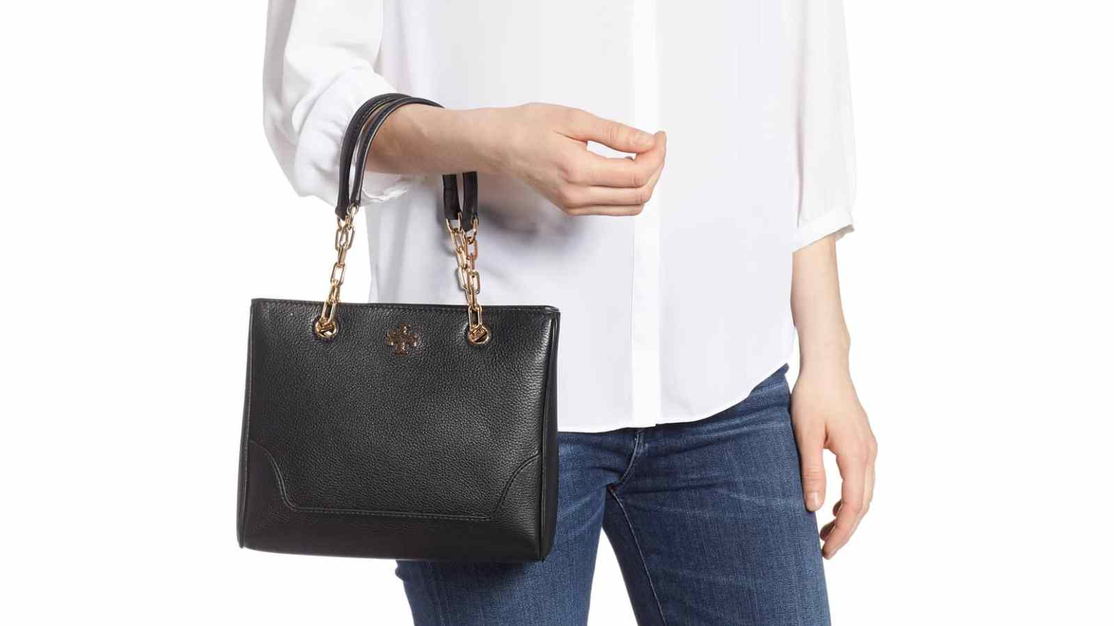 3c69f54e213 Shop This Tory Burch Leather Tote 50 Percent Off at Nordstrom