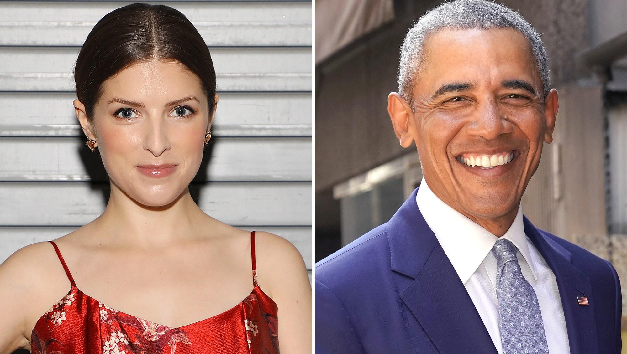 Anna Kendrick, Barack Obama