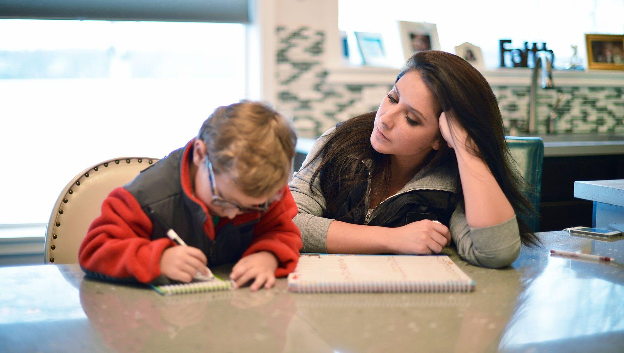 Bristol Palin with her son, Tripp Johnston