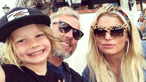 Ace Eric Johnson Jessica Simpson Celebrity Kids Back To School