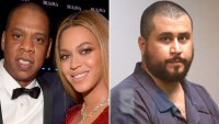 Jay-Z, Beyonce, George Zimmerman, Trayvon Martin