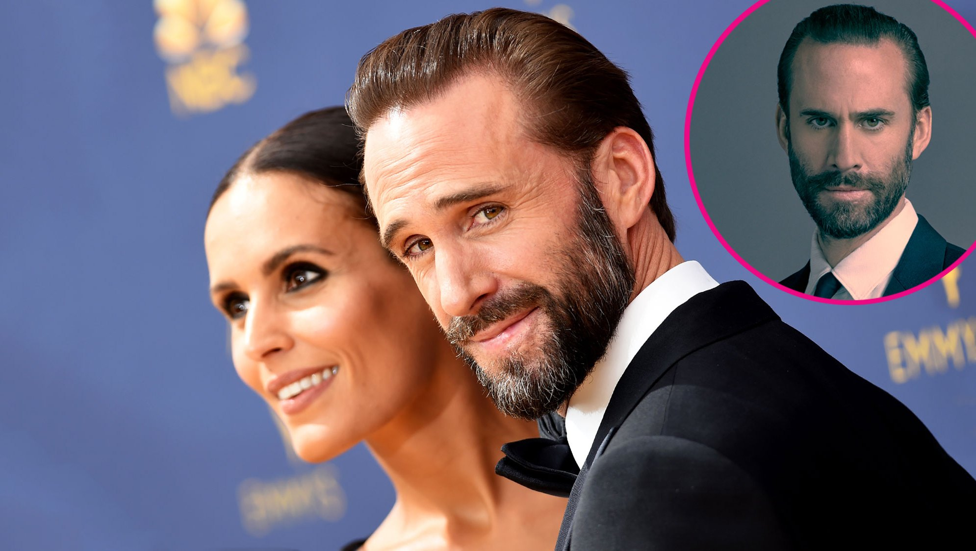 Joseph Fiennes and his wife, Maria Dolores Dieguez