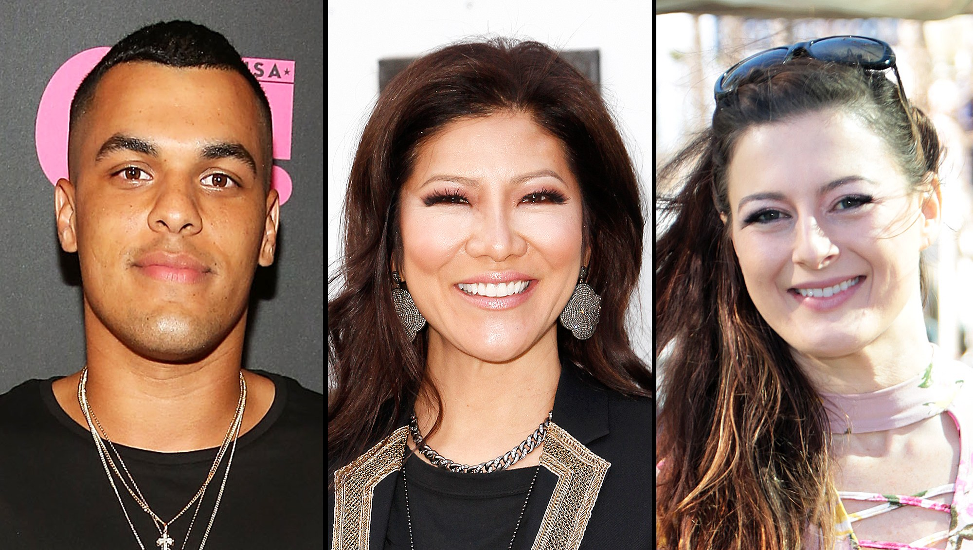Big Brother Alums Josh Martinez Rachel Reilly Julie Chen The Exit Reactions