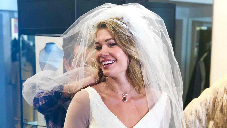BIP's Krystal Nielson Tries on Wedding Dress After Chris Randone Engagement
