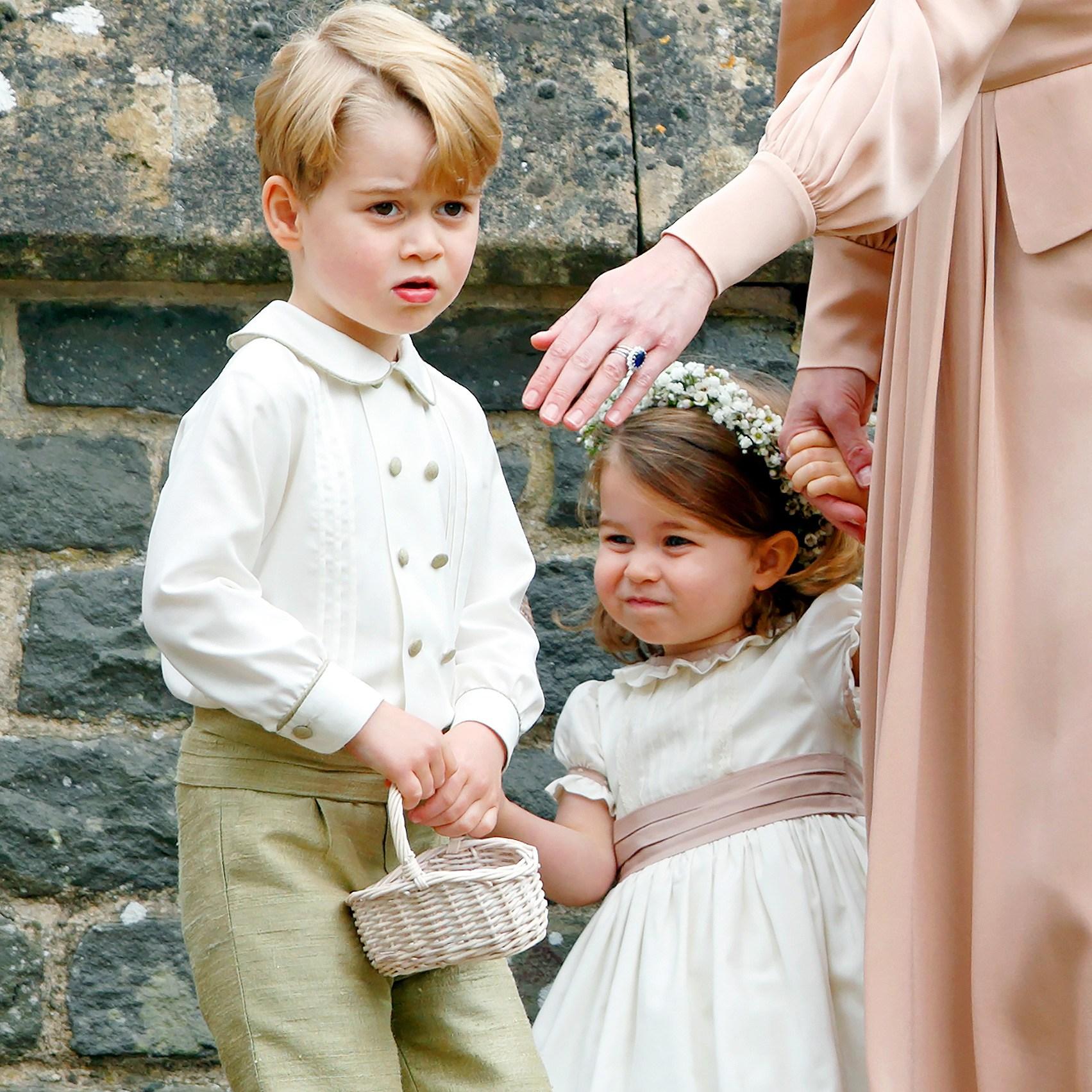Prince George, Princess Charlotte, Royal Wedding