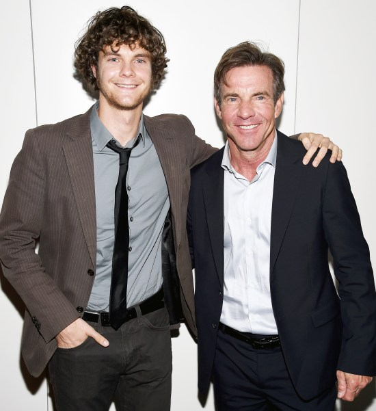 Dennis Quaid Jack Quaid Child Actor