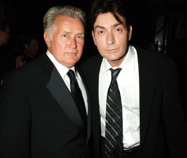 Martin Sheen Opens Up About Son Charlie Sheens Struggles You Cant Control Anything