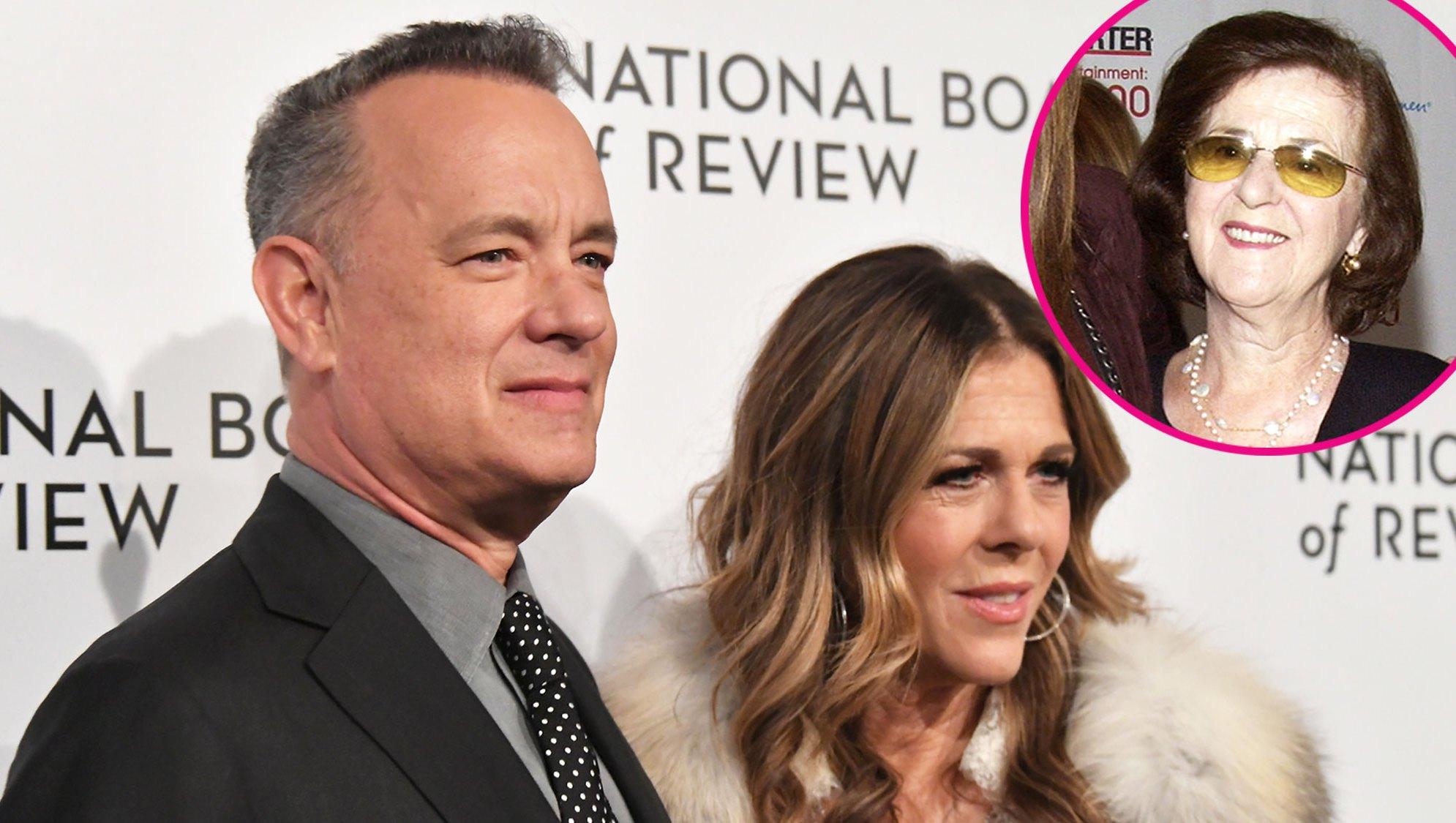 Tom Hanks, Rita Wilson and Dorothy Wilson