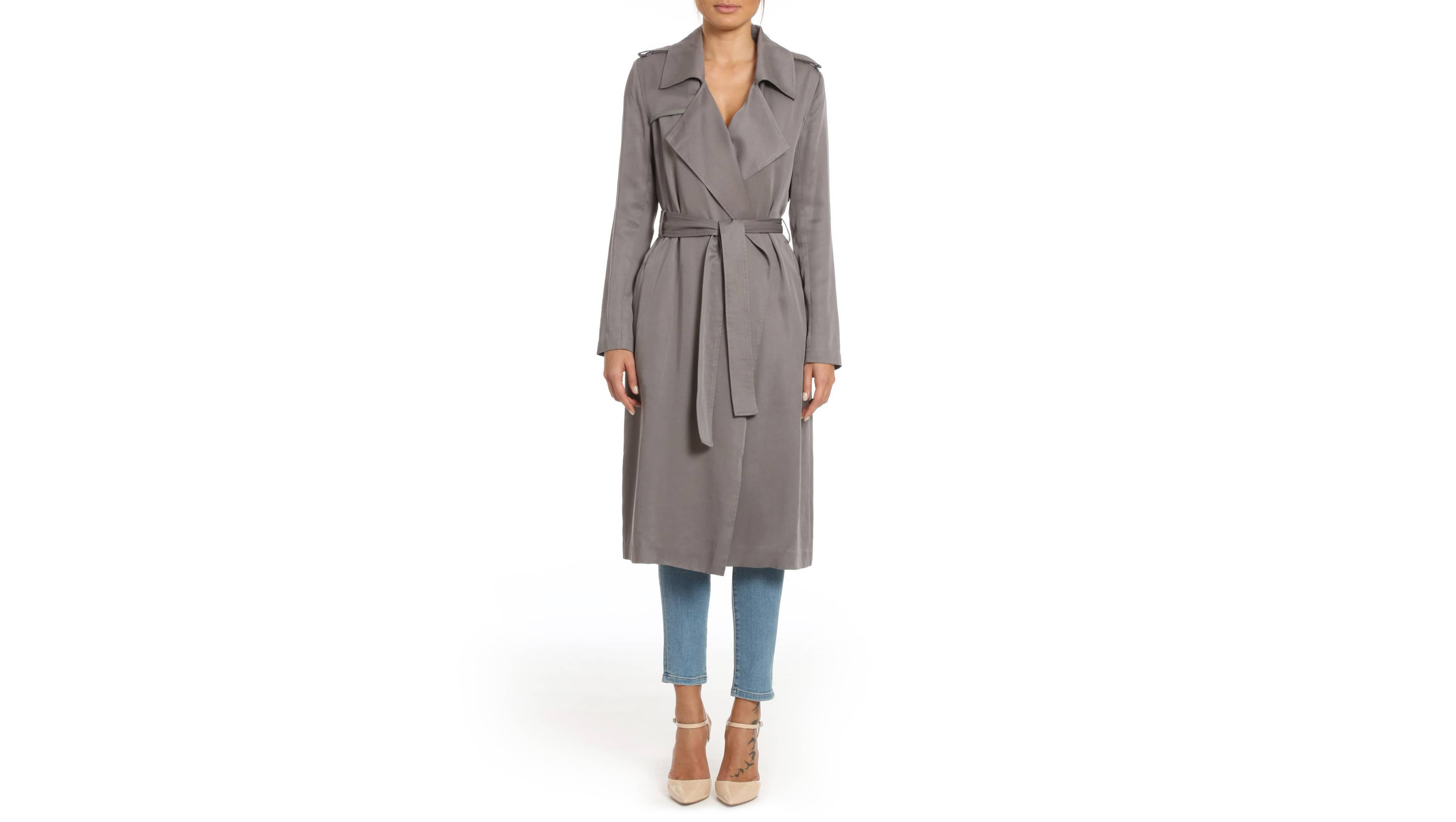 badgley mischka trench
