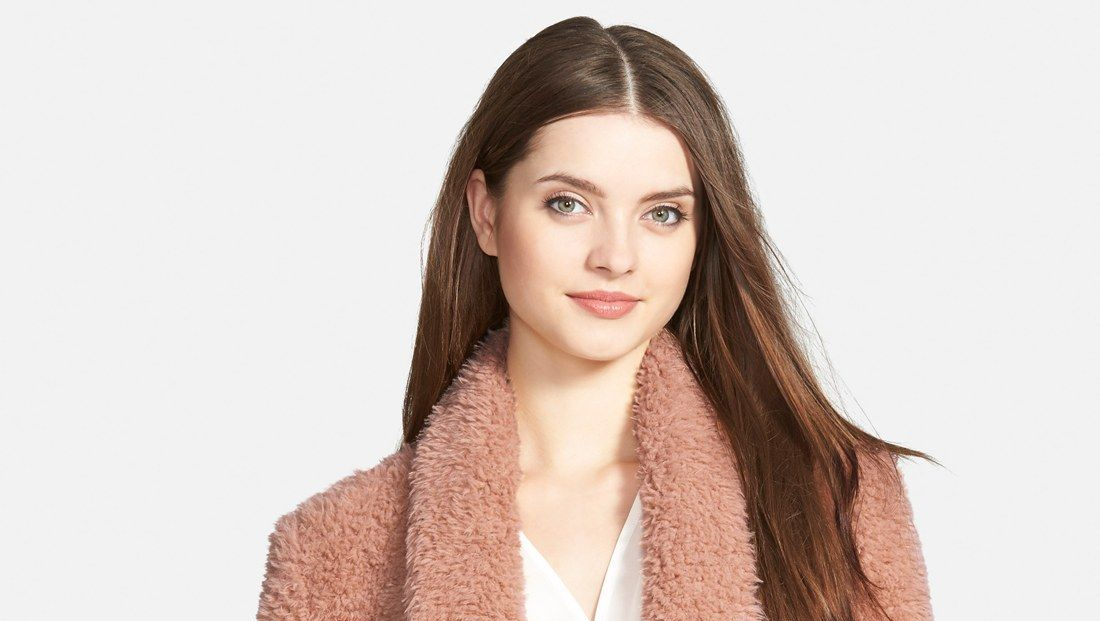 kenneth cole pink coat