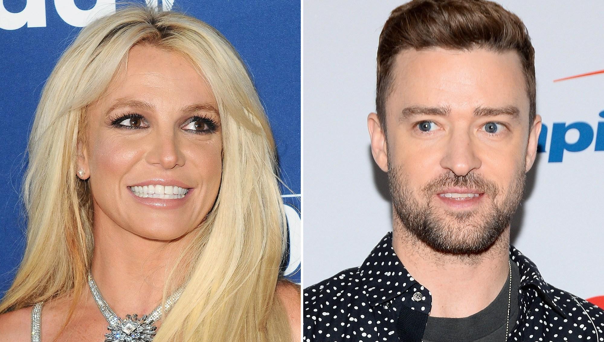 Britney Spears, Justin Timberlake, LoveStoned, Backflip