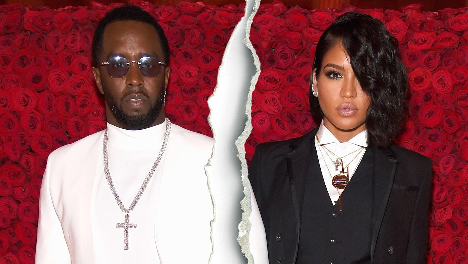 Celebrity Splits of 2018 Diddy Cassie Split