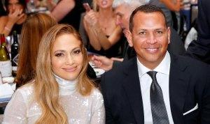 Jennifer Lopez Alex Rodriguez No Engaged