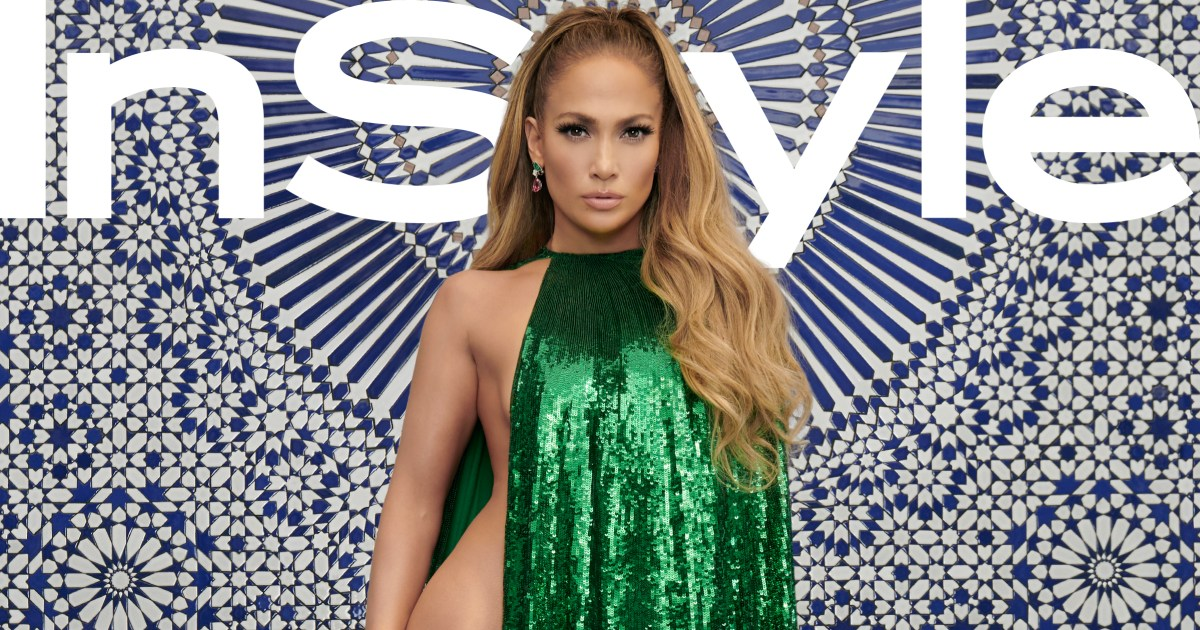 Jennifer Lopez In A Nearly Naked Cape On Instyle Cover Pics