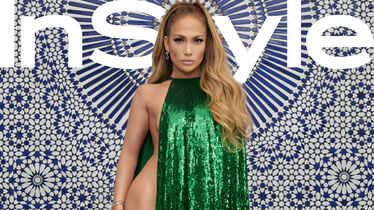 2486cd0de8a6 Jennifer Lopez in a Nearly Naked Cape on  InStyle  Cover  Pics