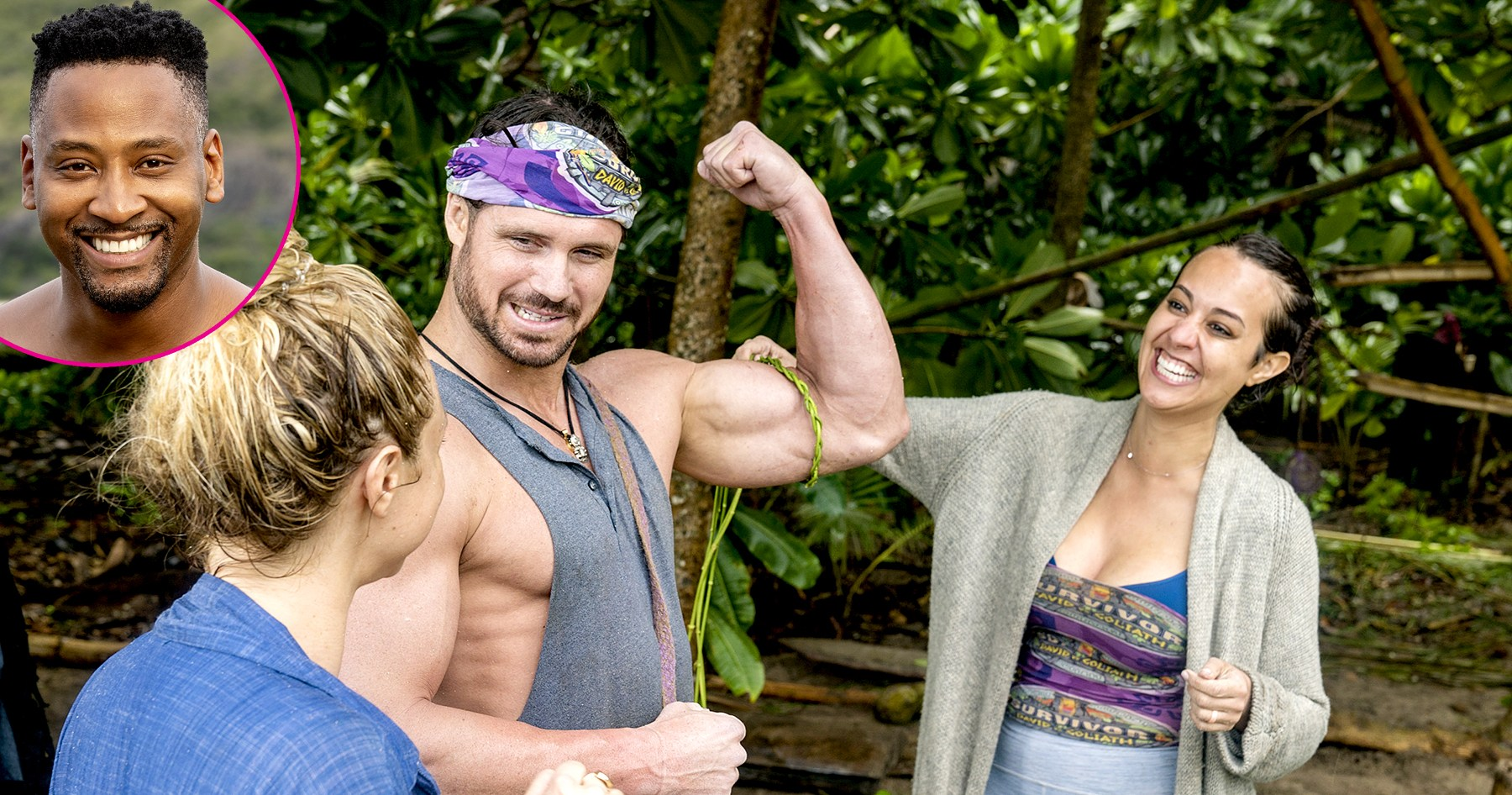 'Survivor' Castoff Jeremy Claims Married Angelina Had a Showmance