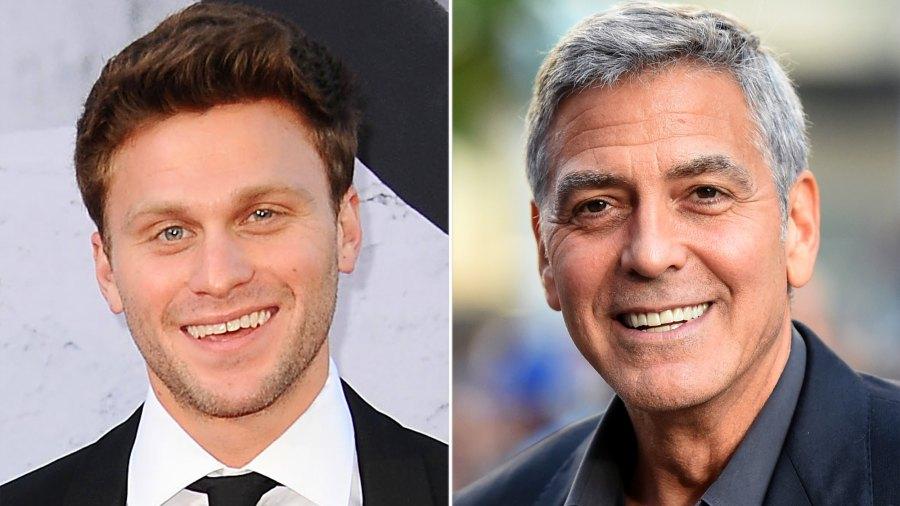 Jon Rudnitsky and George Clooney