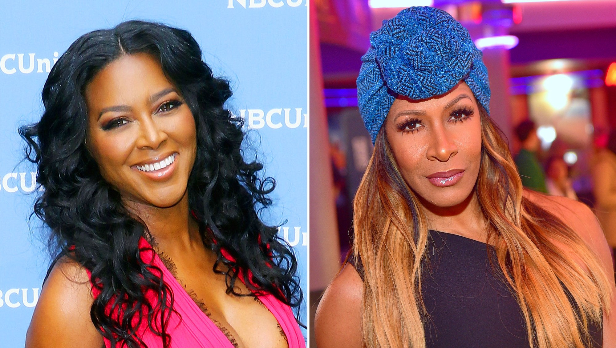 Kenya Moore and Sheree Whitfield