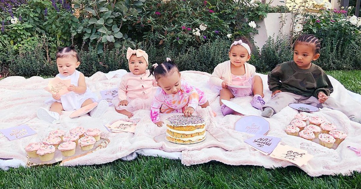 Khloe Kardashian Shares Adorable Photo of Daughter True With Chicago, Stormi, Dream and Saint