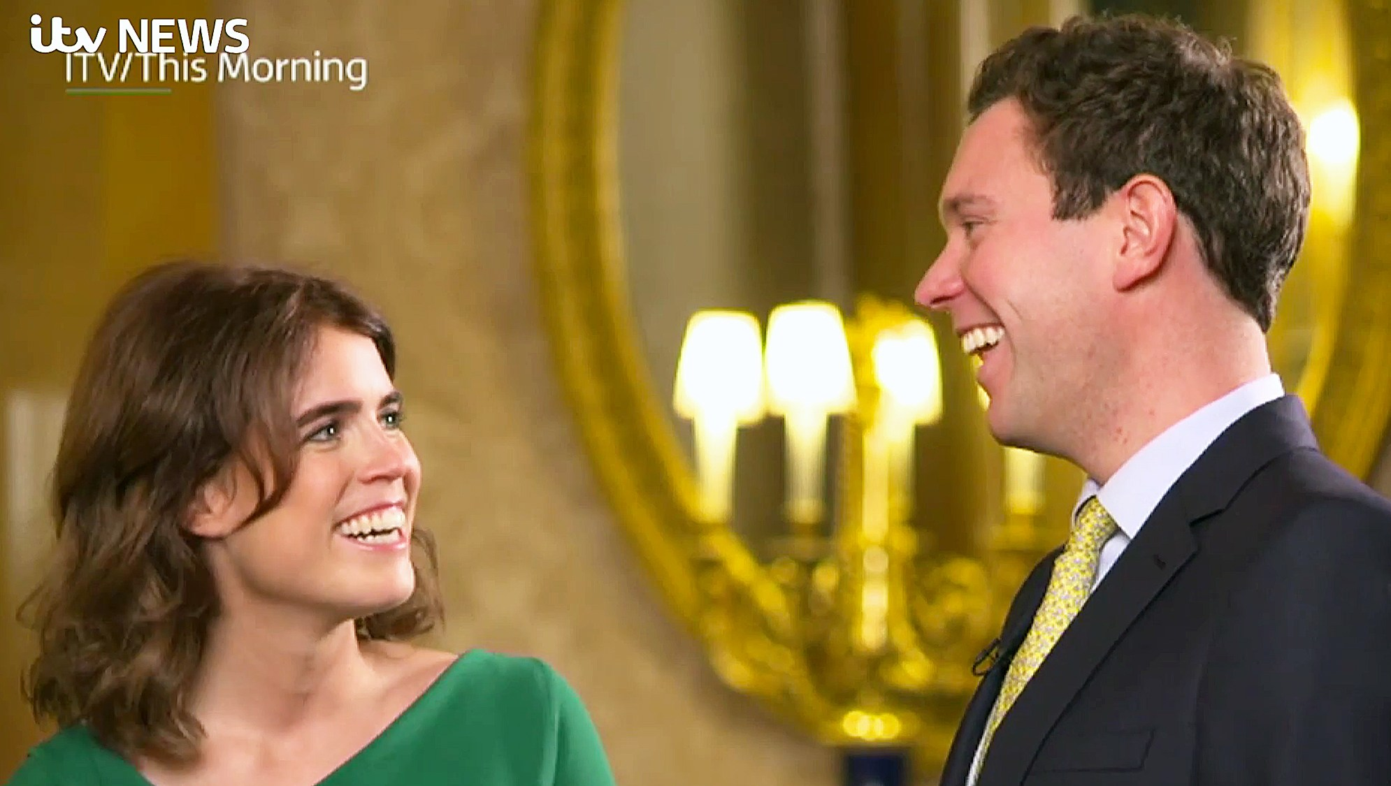 Princess Eugenie Jack Brooksbank Love At First Sight