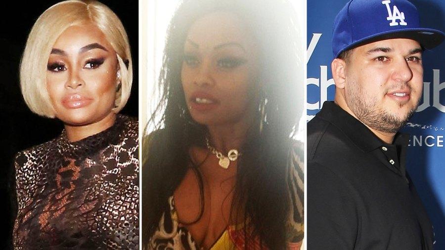 Blac Chyna, Tokyo Toni and Rob Kardashian